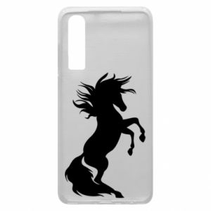 Phone case for Huawei P30 Horse on hind legs
