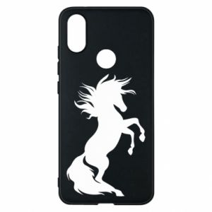 Phone case for Xiaomi Mi A2 Horse on hind legs