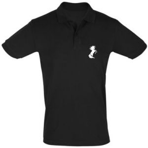 Men's Polo shirt Horse on hind legs