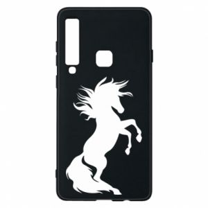 Phone case for Samsung A9 2018 Horse on hind legs