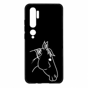 Etui na Xiaomi Mi Note 10 Horse portrait lines profile