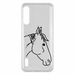 Etui na Xiaomi Mi A3 Horse portrait lines profile