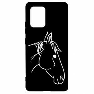 Etui na Samsung S10 Lite Horse portrait lines profile
