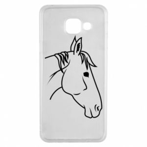 Etui na Samsung A3 2016 Horse portrait lines profile