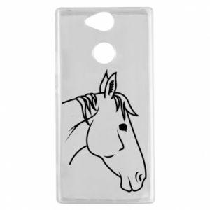 Etui na Sony Xperia XA2 Horse portrait lines profile
