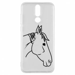 Phone case for Huawei Mate 10 Lite Horse portrait lines profile