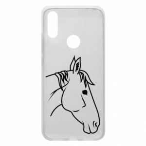 Phone case for Xiaomi Redmi 7 Horse portrait lines profile