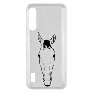 Etui na Xiaomi Mi A3 Horse portrait with lines