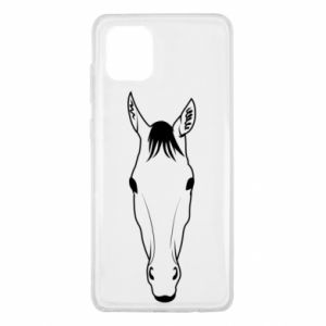 Etui na Samsung Note 10 Lite Horse portrait with lines
