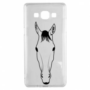 Etui na Samsung A5 2015 Horse portrait with lines