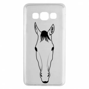 Etui na Samsung A3 2015 Horse portrait with lines