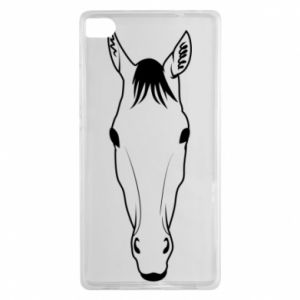 Etui na Huawei P8 Horse portrait with lines