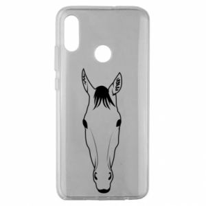 Etui na Huawei Honor 10 Lite Horse portrait with lines