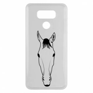 Etui na LG G6 Horse portrait with lines
