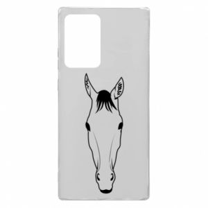 Etui na Samsung Note 20 Ultra Horse portrait with lines