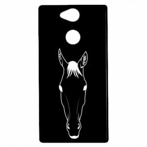 Etui na Sony Xperia XA2 Horse portrait with lines