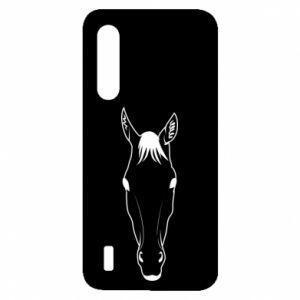 Etui na Xiaomi Mi9 Lite Horse portrait with lines