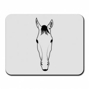 Podkładka pod mysz Horse portrait with lines - PrintSalon