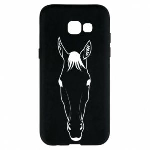 Etui na Samsung A5 2017 Horse portrait with lines