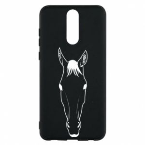 Etui na Huawei Mate 10 Lite Horse portrait with lines
