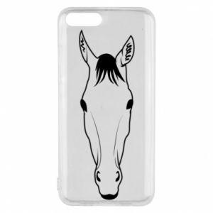 Etui na Xiaomi Mi6 Horse portrait with lines