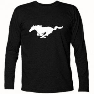 Koszulka z długim rękawem Horse running - PrintSalon