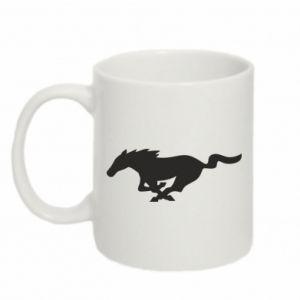 Kubek 330ml Horse running - PrintSalon