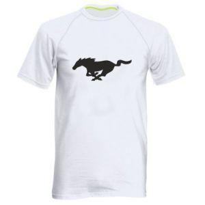 Męska koszulka sportowa Horse running - PrintSalon