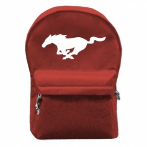 Plecak z przednią kieszenią Horse running - PrintSalon