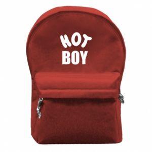 Plecak z przednią kieszenią Hot boy