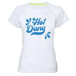 Damska koszulka sportowa Hot Dang