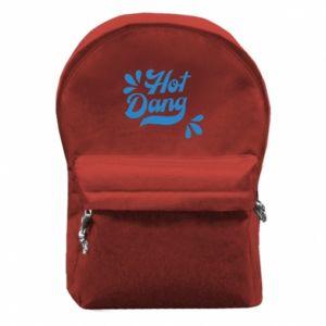 Plecak z przednią kieszenią Hot Dang