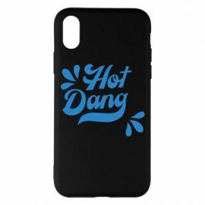 Etui na iPhone X/Xs Hot Dang