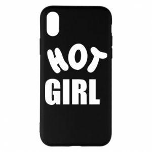 Etui na iPhone X/Xs Hot girl