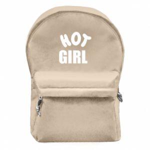 Plecak z przednią kieszenią Hot girl