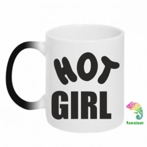 Chameleon mugs Hot girl