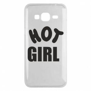 Etui na Samsung J3 2016 Hot girl