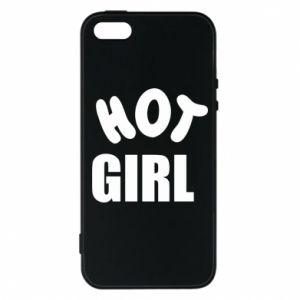 Etui na iPhone 5/5S/SE Hot girl