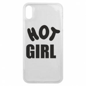 Etui na iPhone Xs Max Hot girl