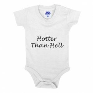 Body dziecięce Hotter than hell