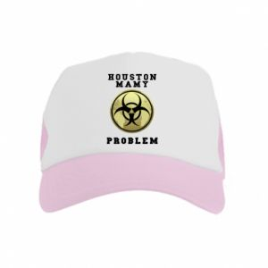 Kid's Trucker Hat Houston we have a problem