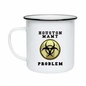 Enameled mug Houston we have a problem