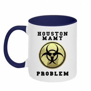 Kubek dwukolorowy Houston mamy problem