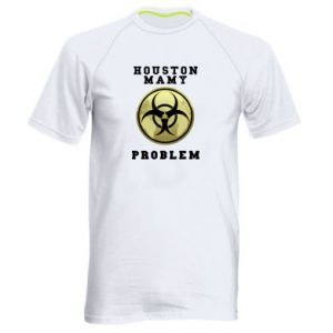 Men's sports t-shirt Houston we have a problem