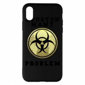 Phone case for iPhone X/Xs Houston we have a problem