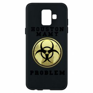 Phone case for Samsung A6 2018 Houston we have a problem