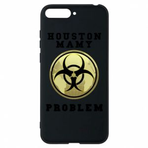Phone case for Huawei Y6 2018 Houston we have a problem