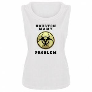 Damska koszulka bez rękawów Houston mamy problem