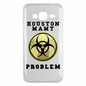 Phone case for Samsung J3 2016 Houston we have a problem