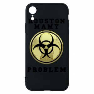 Phone case for iPhone XR Houston we have a problem